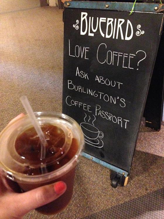 Iced Coffee Bluebird