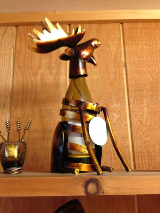 Moose Wine Holder