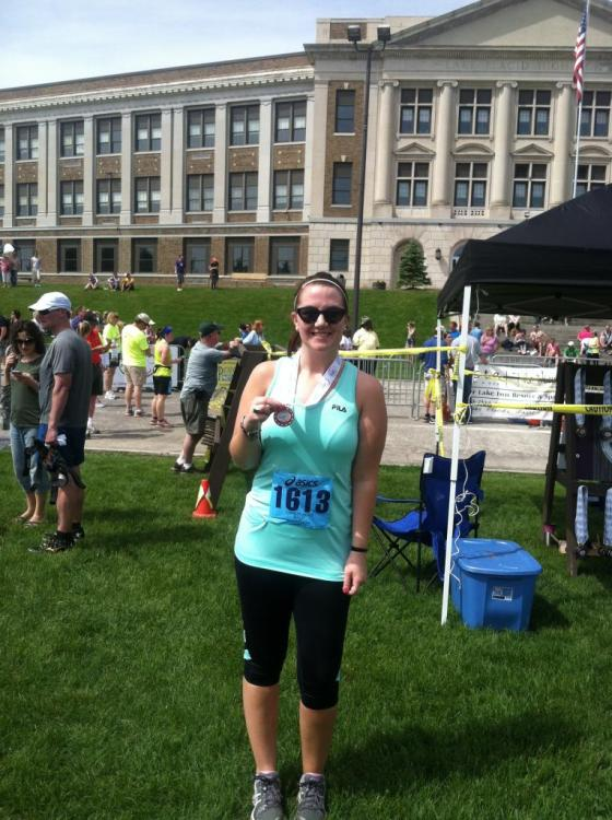 Lake Placid Half Marathon Finisher!