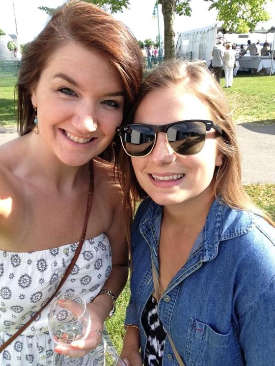 Maria and I
