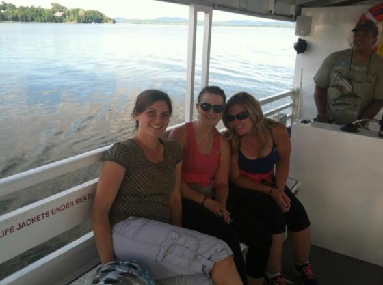 Kelly, Katie and I