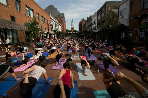 Yoga on Church Street