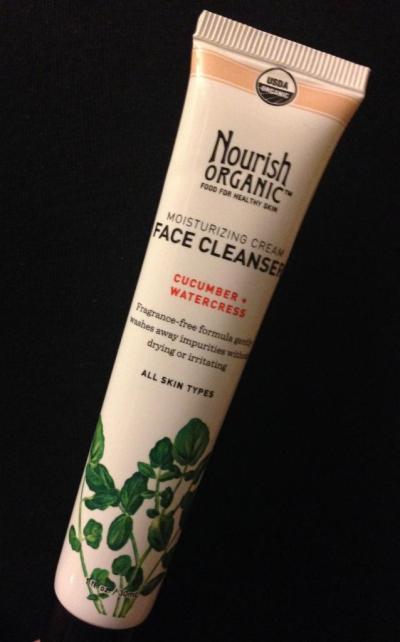 Nourish Organic's Moisturizing Organic Face Cleanser
