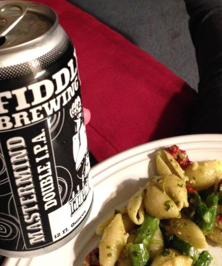 Fiddlehead and Dinner