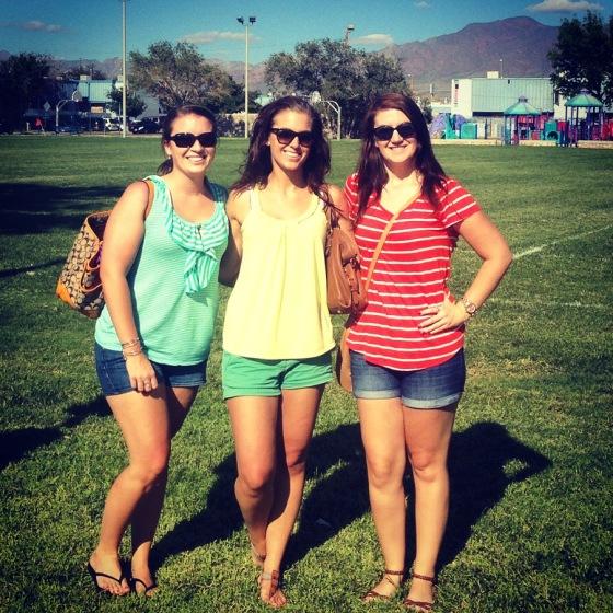 Kari, Meredith and I