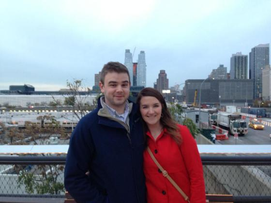 Zach and I NYC