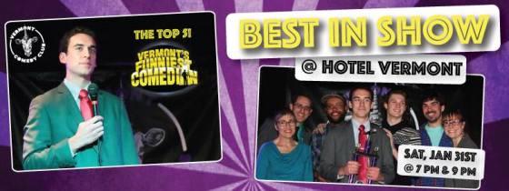 Best in Show @ Hotel Vermont