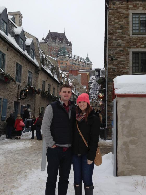 Zach and I Quebec City