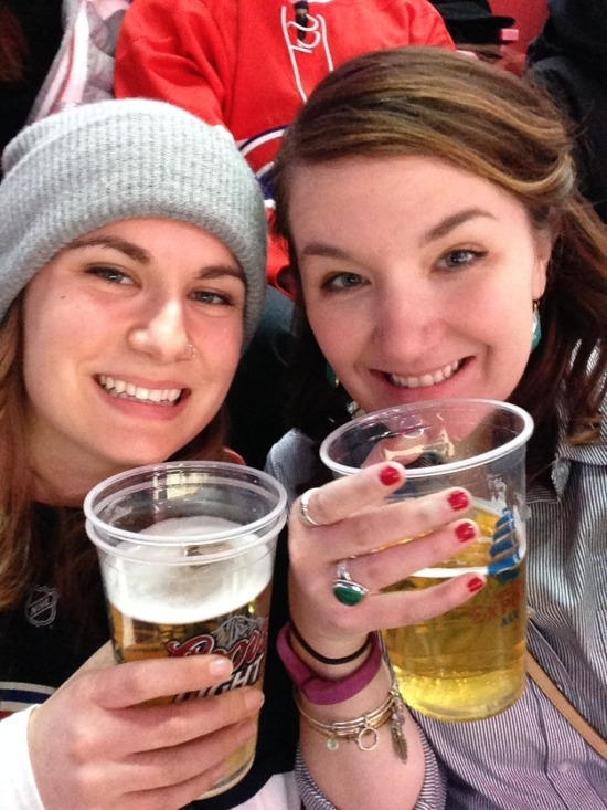 Maria & I: Canadiens Game