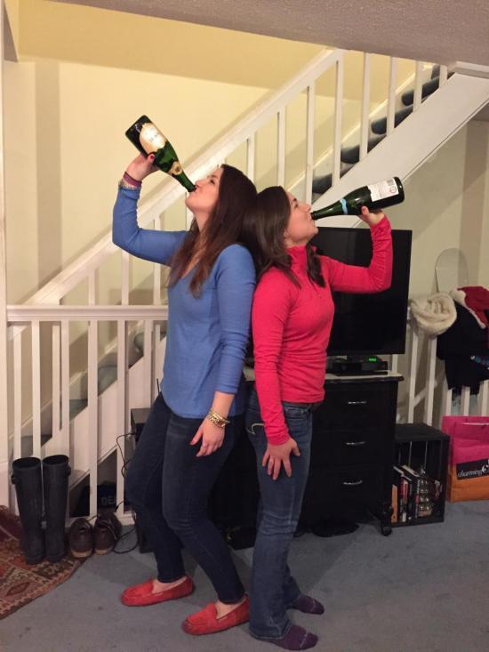Birthday Bottle Tradition