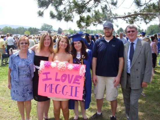 Meghan's High School Graduation